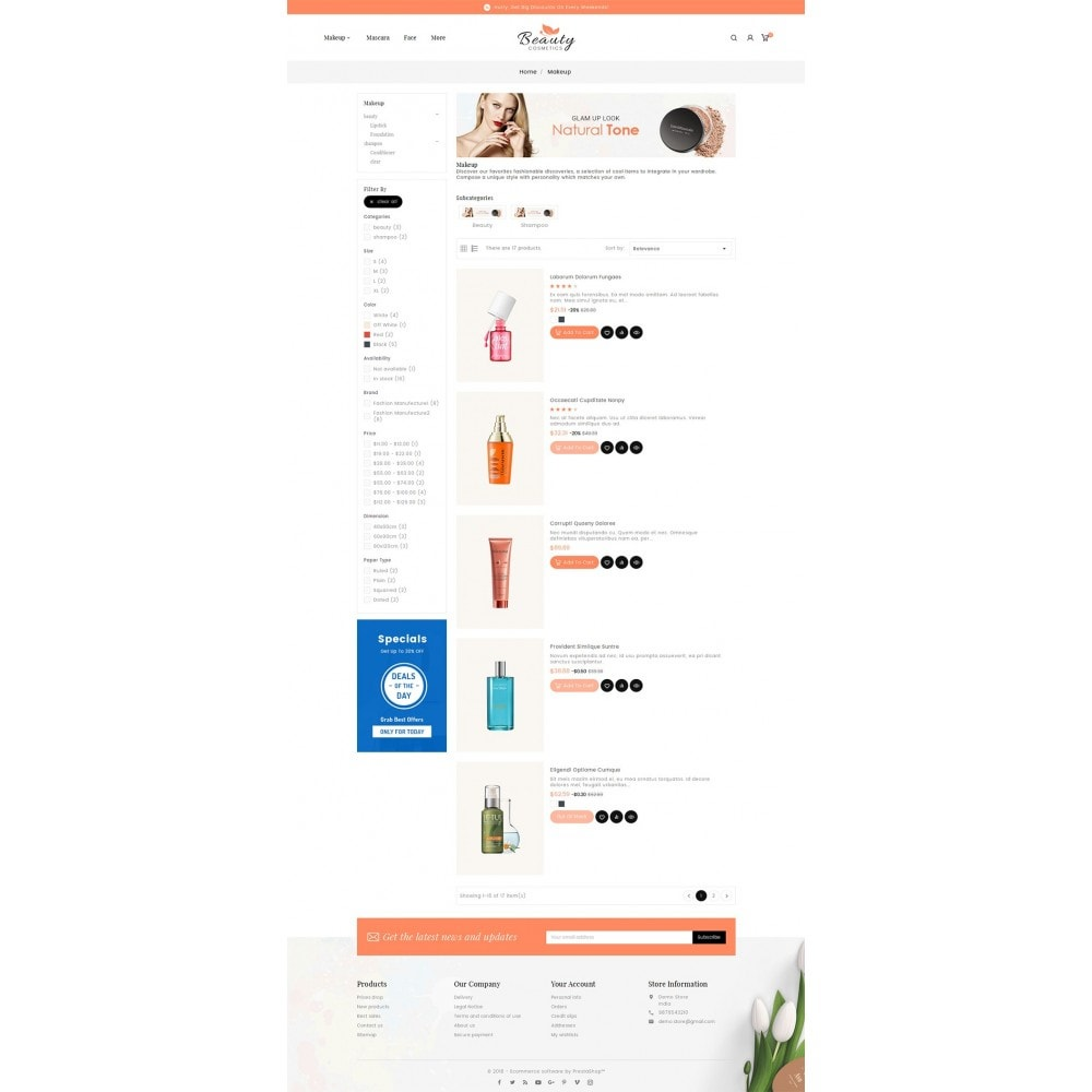 theme - Gesundheit & Schönheit - Beauty Spa & Cosmetics - 5