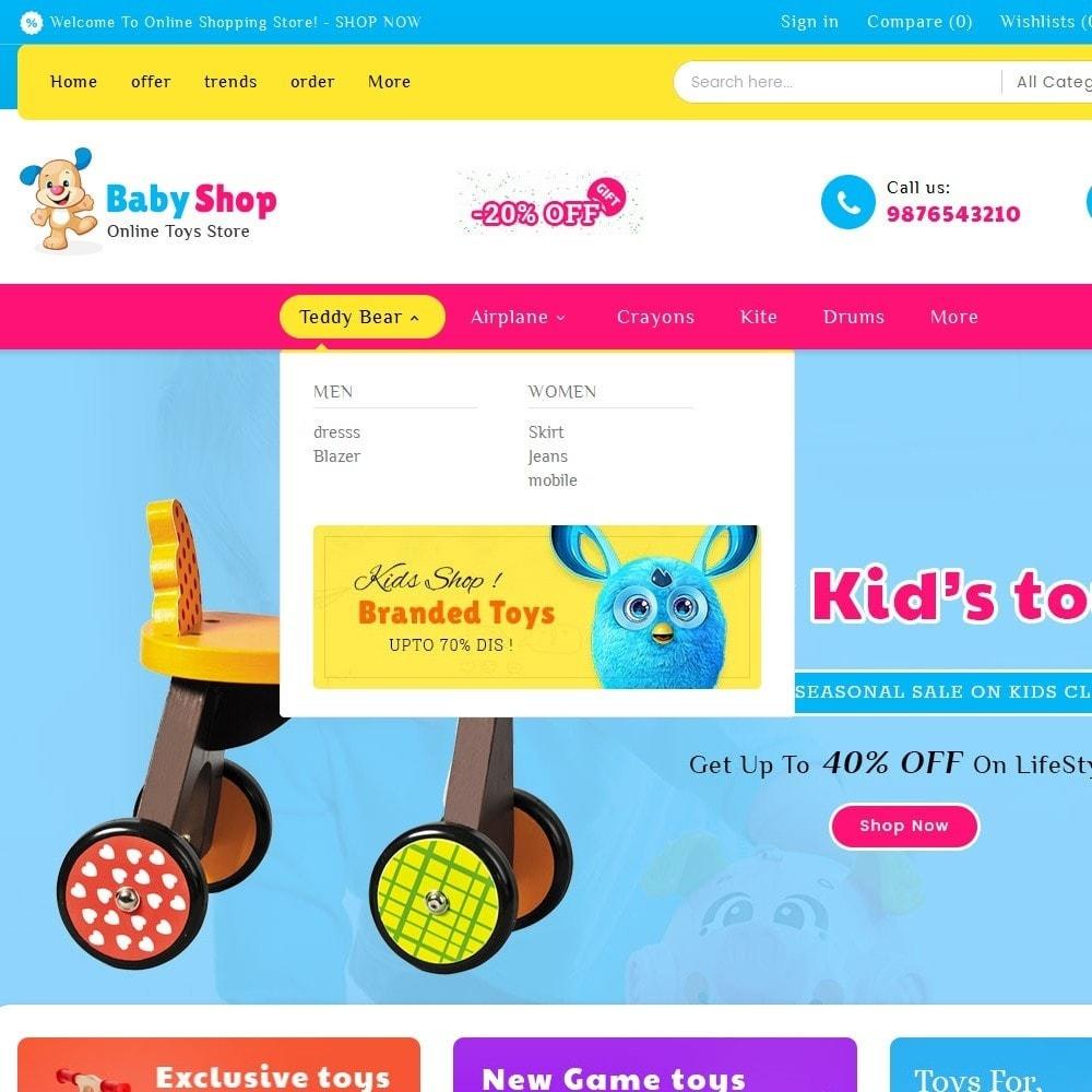 theme - Bambini & Giocattoli - Baby Toys - 9