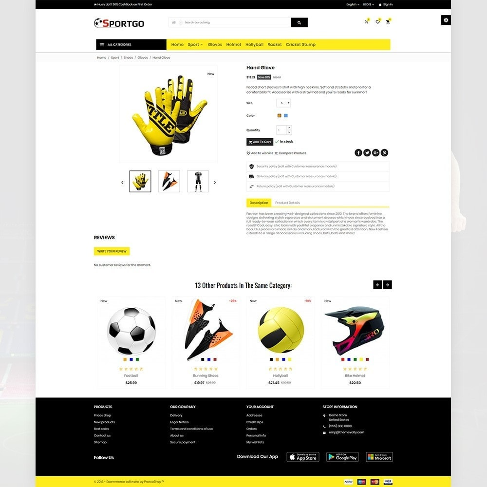 theme - Sports, Activities & Travel - SportGO – Sport Accessories Store - 4