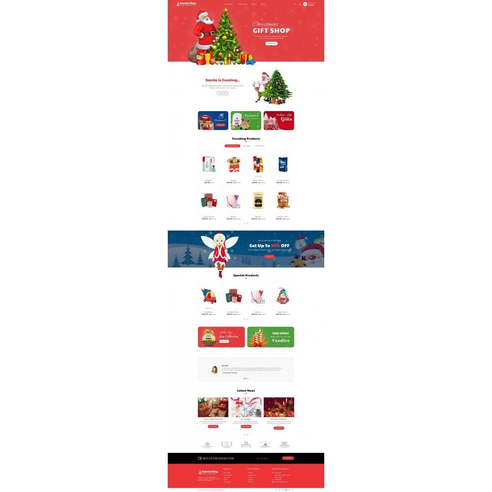 theme - Geschenke, Blumen & Feiern - Santa Gift Store - 3