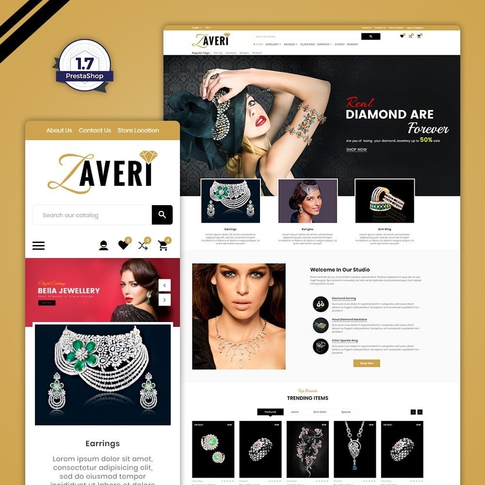 theme - Bellezza & Gioielli - Zaveri – Jewelry & accessories Store - 1