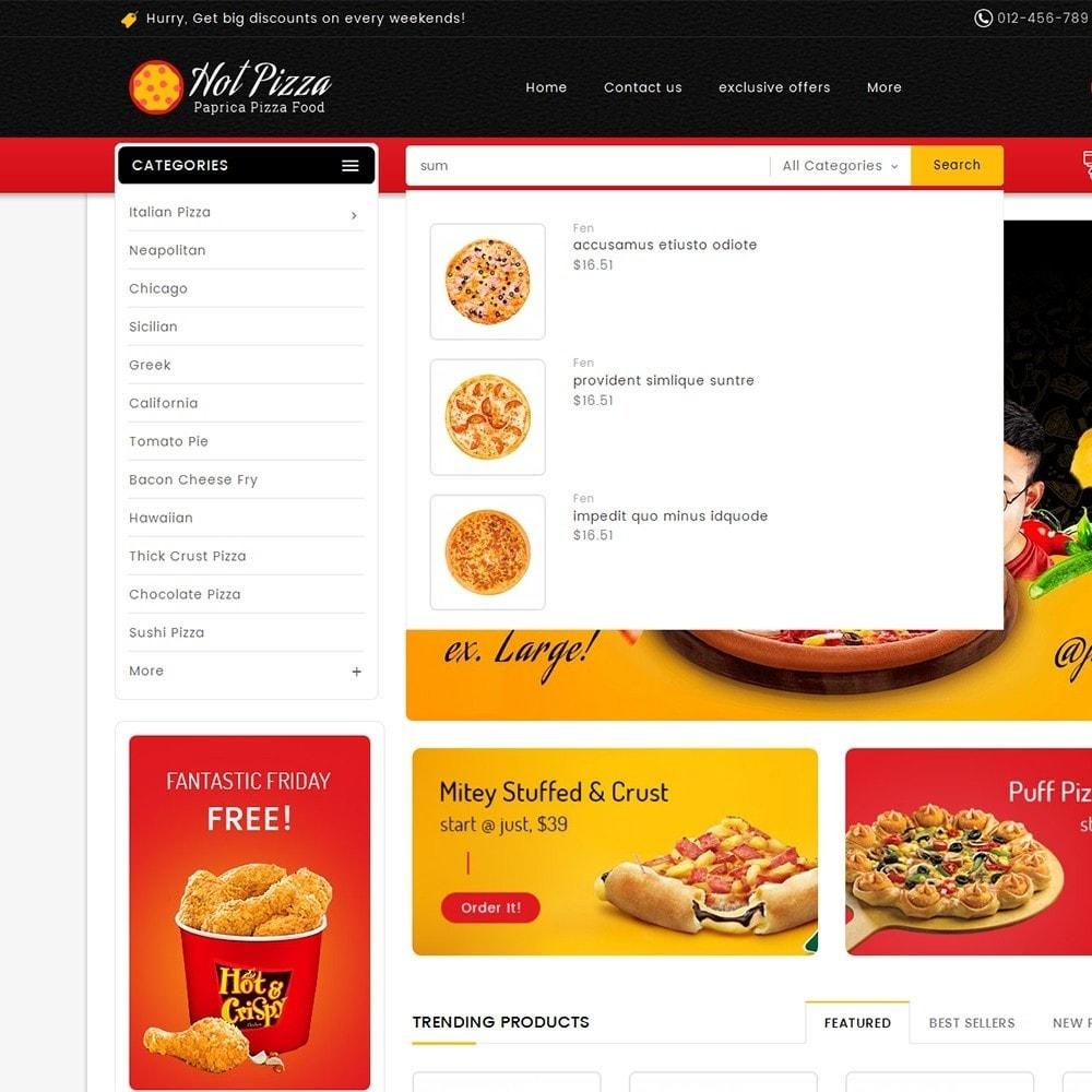 theme - Gastronomía y Restauración - Paprika Pizza - Fast Food - 10