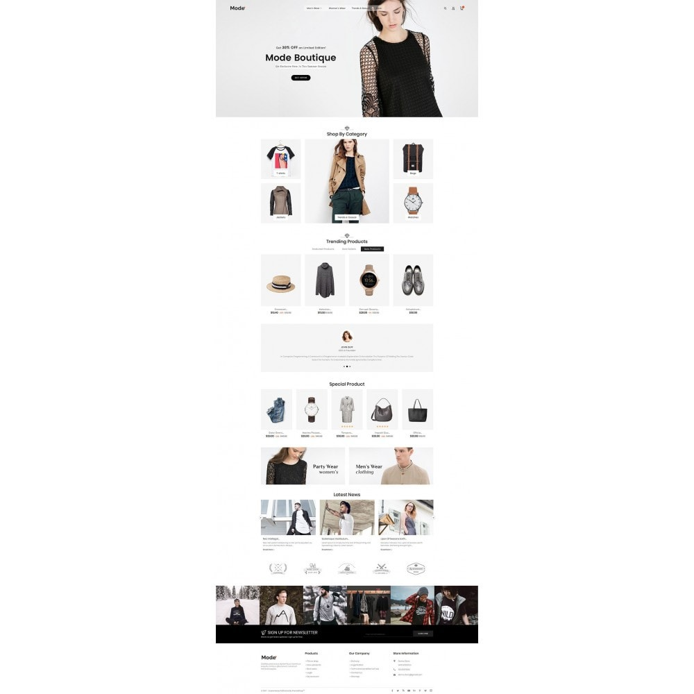 theme - Moda y Calzado - Mode Fashion - 3