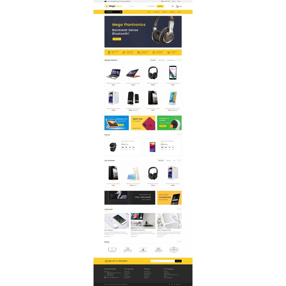 theme - Elektronik & High Tech - Mega Store Electronics - 3