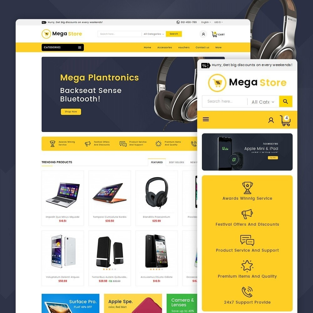 theme - Elettronica & High Tech - Mega Store Electronics - 2
