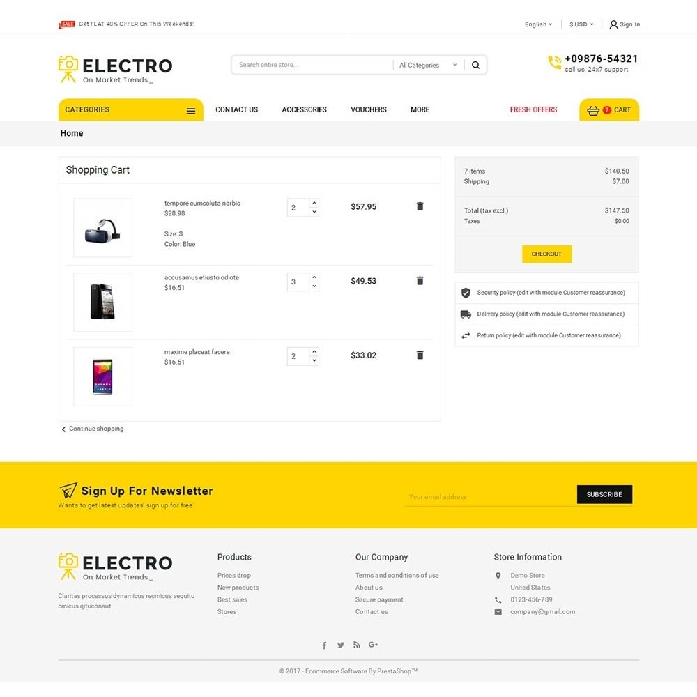 theme - Elettronica & High Tech - Mega Electronics Store - 7