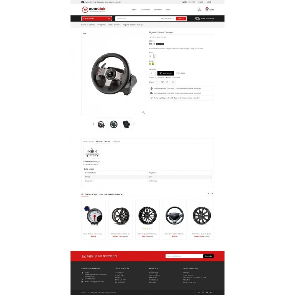 theme - Auto & Moto - Mega Auto Parts - 6