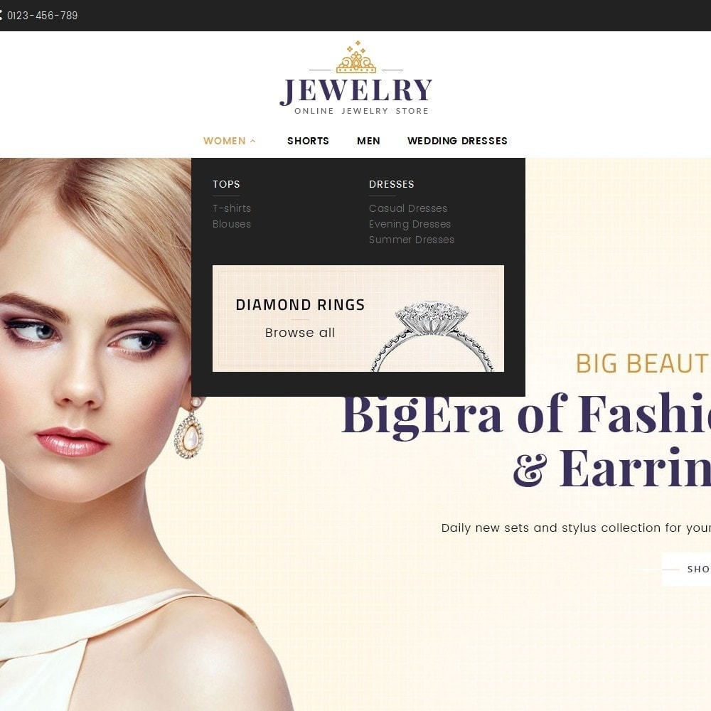 theme - Schmuck & Accesoires - Jewelry Store - 10