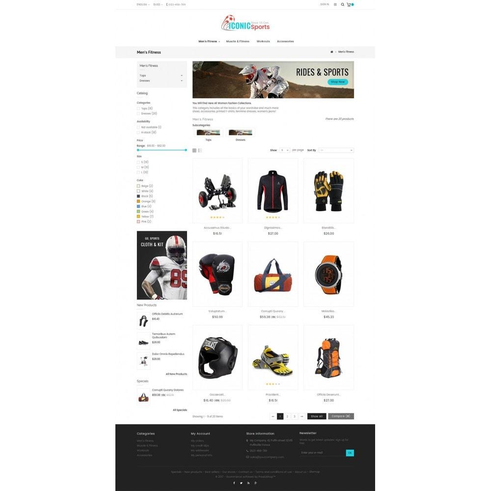 theme - Deportes, Actividades y Viajes - Iconic Sports Store - 4