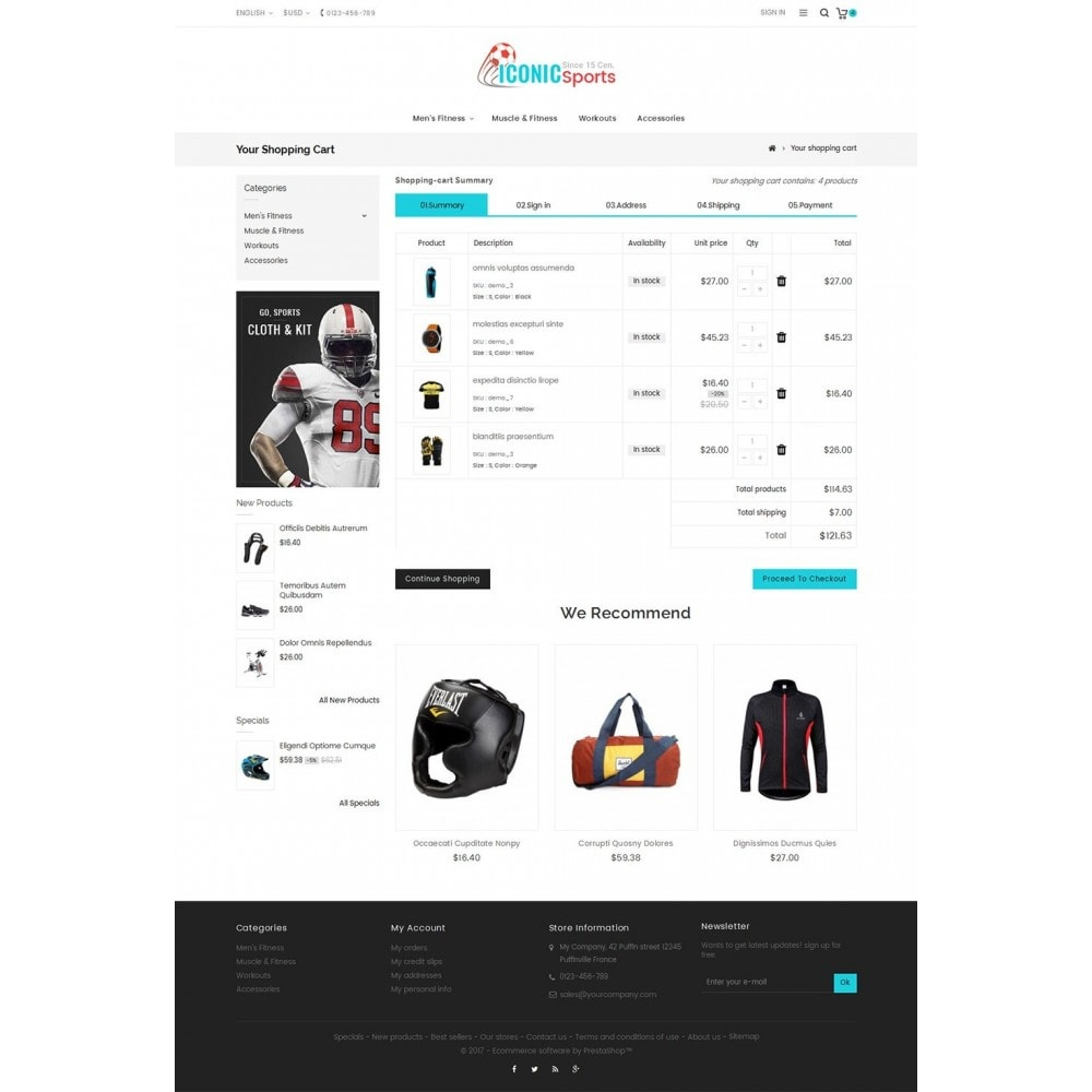 theme - Deportes, Actividades y Viajes - Iconic Sports Store - 7