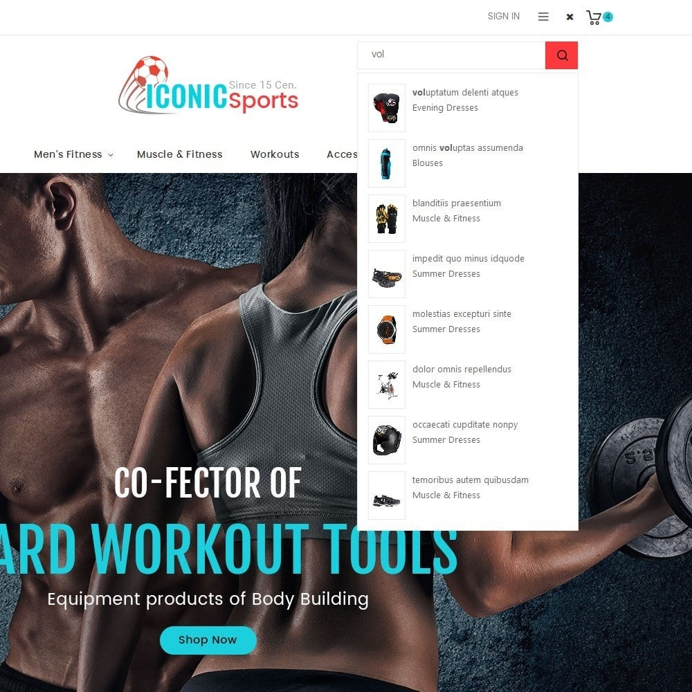 theme - Deportes, Actividades y Viajes - Iconic Sports Store - 11