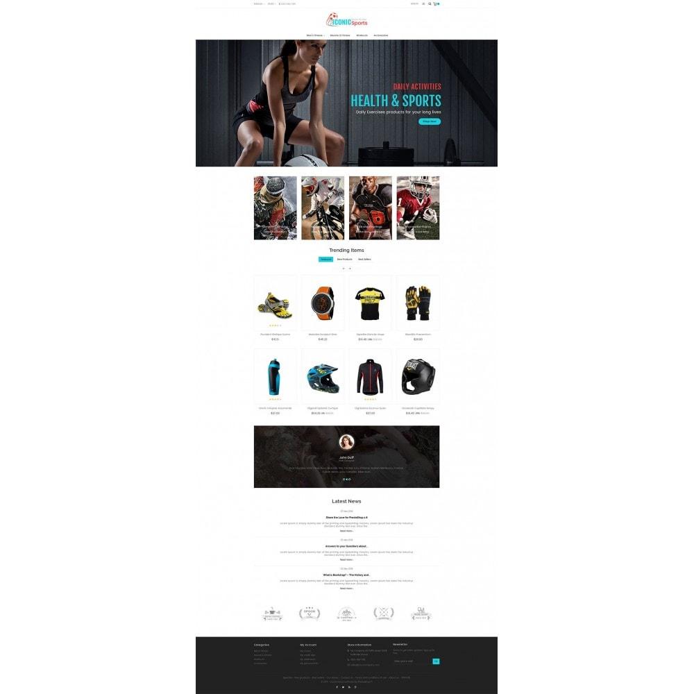 theme - Sport, Attività & Viaggi - Iconic Sports Store - 3