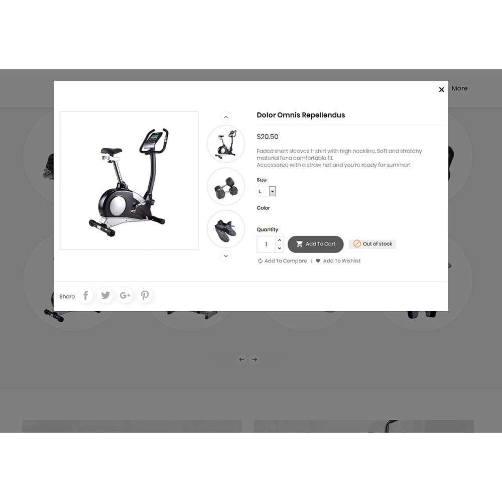 theme - Sport, Loisirs & Voyage - Fitness Gym Equipment - 8