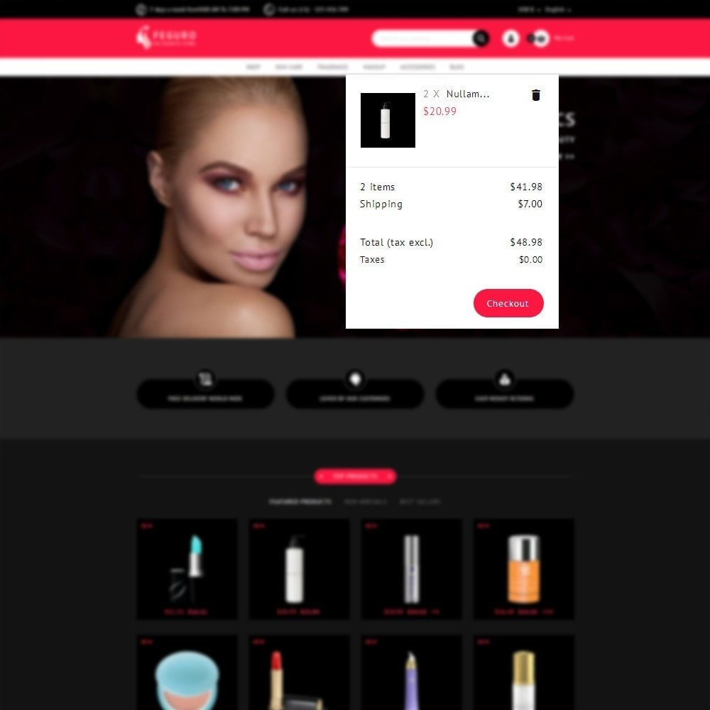 theme - Health & Beauty - The Cosmetic Store - 7