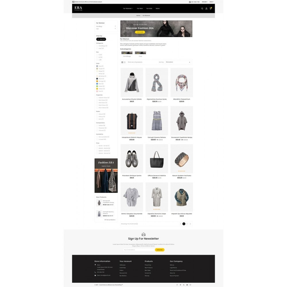 theme - Mode & Schuhe - Era Fashion Store - 4
