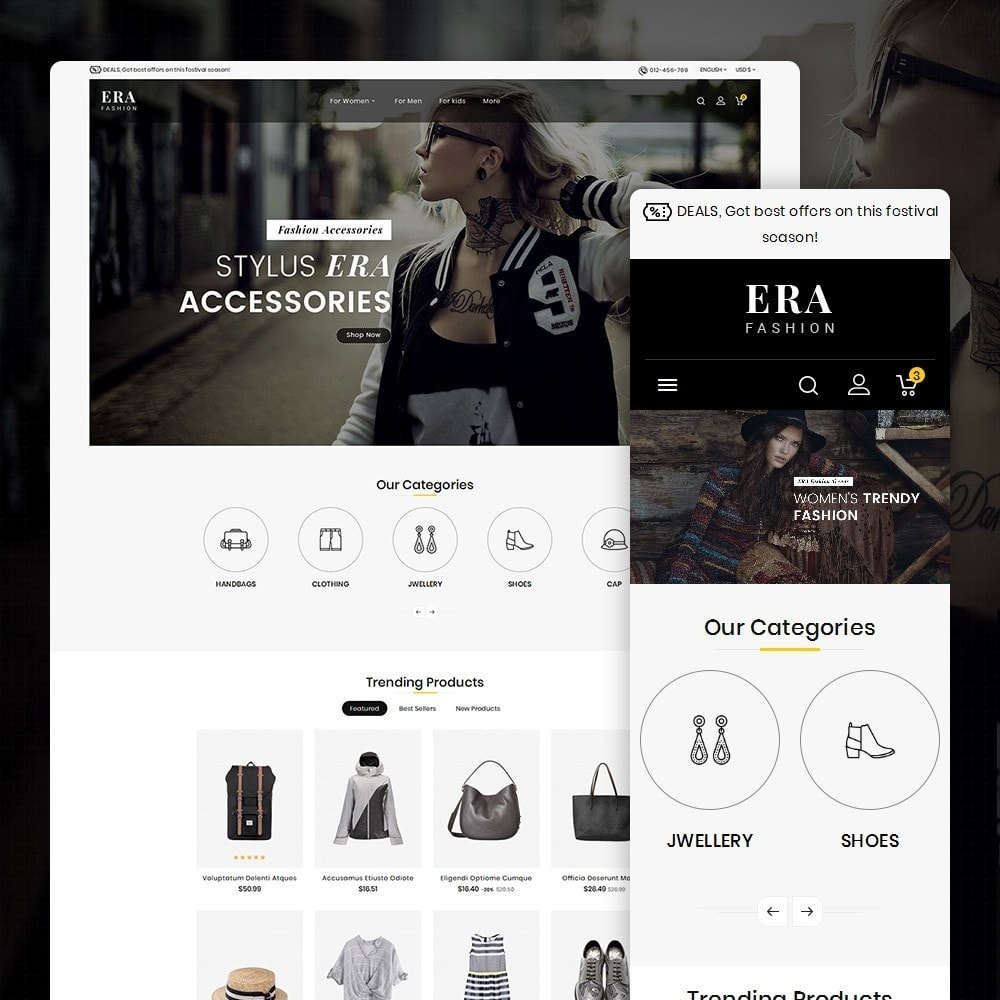 theme - Moda & Calzature - Era Fashion Store - 2