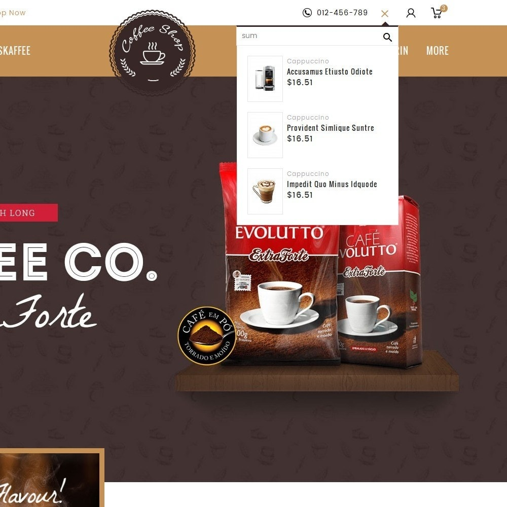 theme - Bebidas y Tabaco - Coffee Shop - 10
