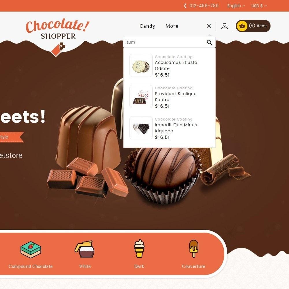 theme - Geschenke, Blumen & Feiern - Chocolate Cream - 10