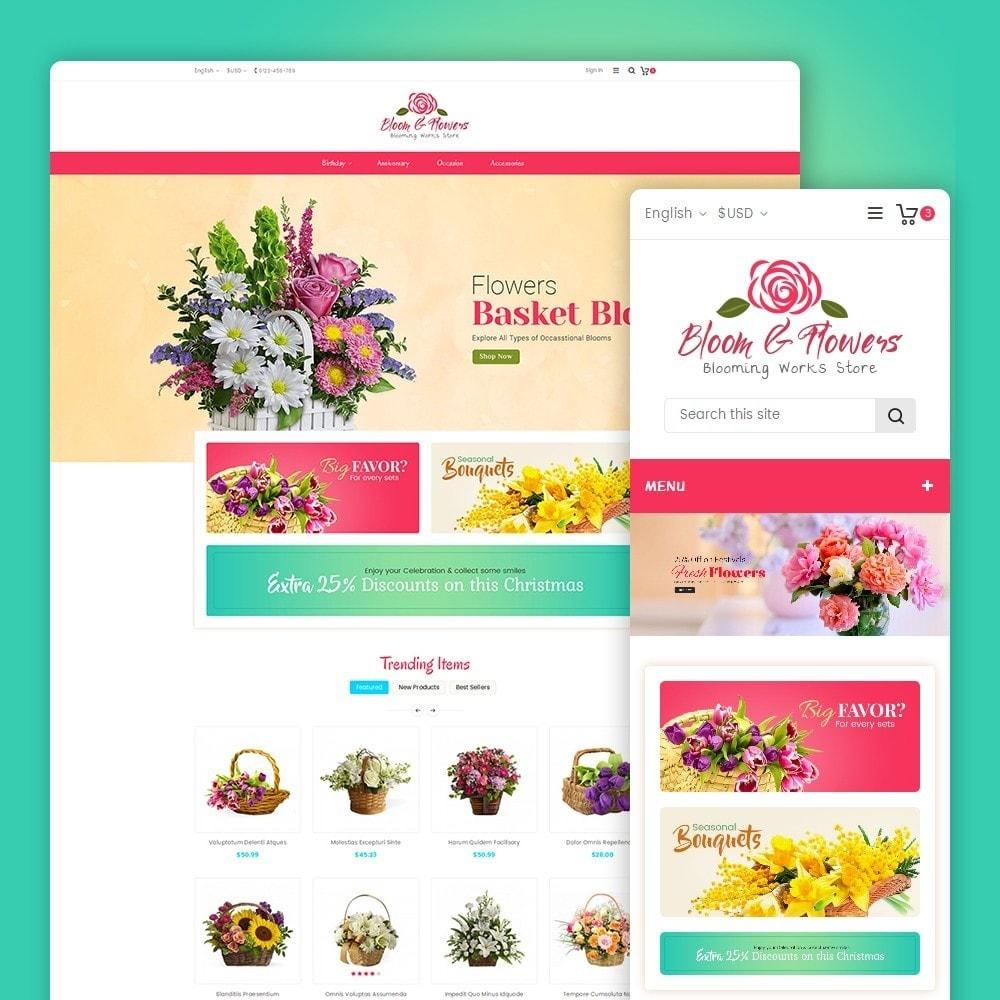 theme - Cadeaux, Fleurs et Fêtes - Bloom Flower Store - 2