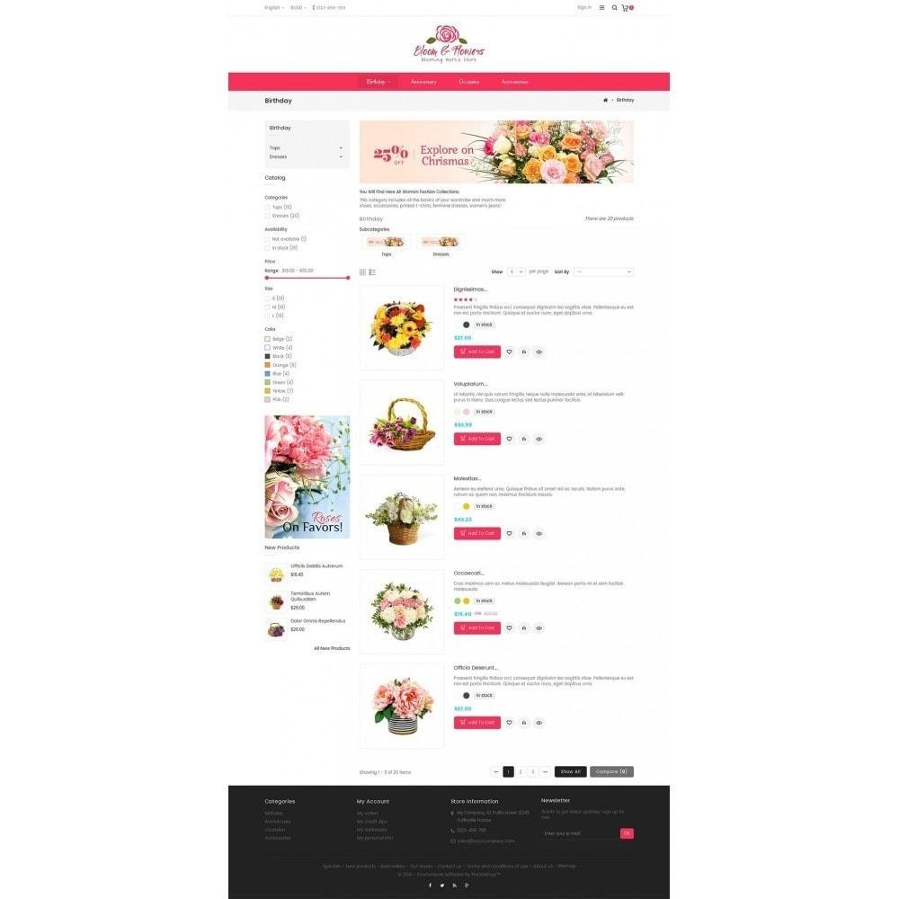 theme - Geschenke, Blumen & Feiern - Bloom Flower Store - 5