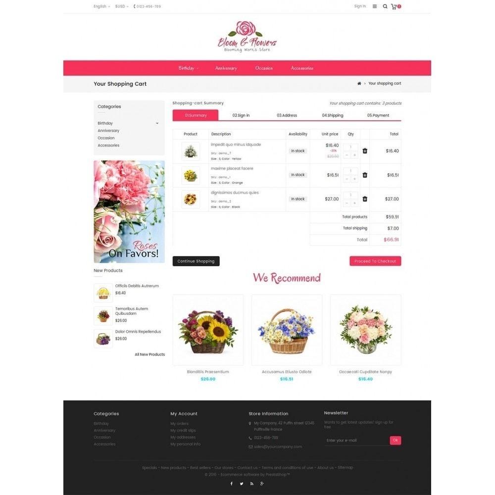 theme - Cadeaux, Fleurs et Fêtes - Bloom Flower Store - 7