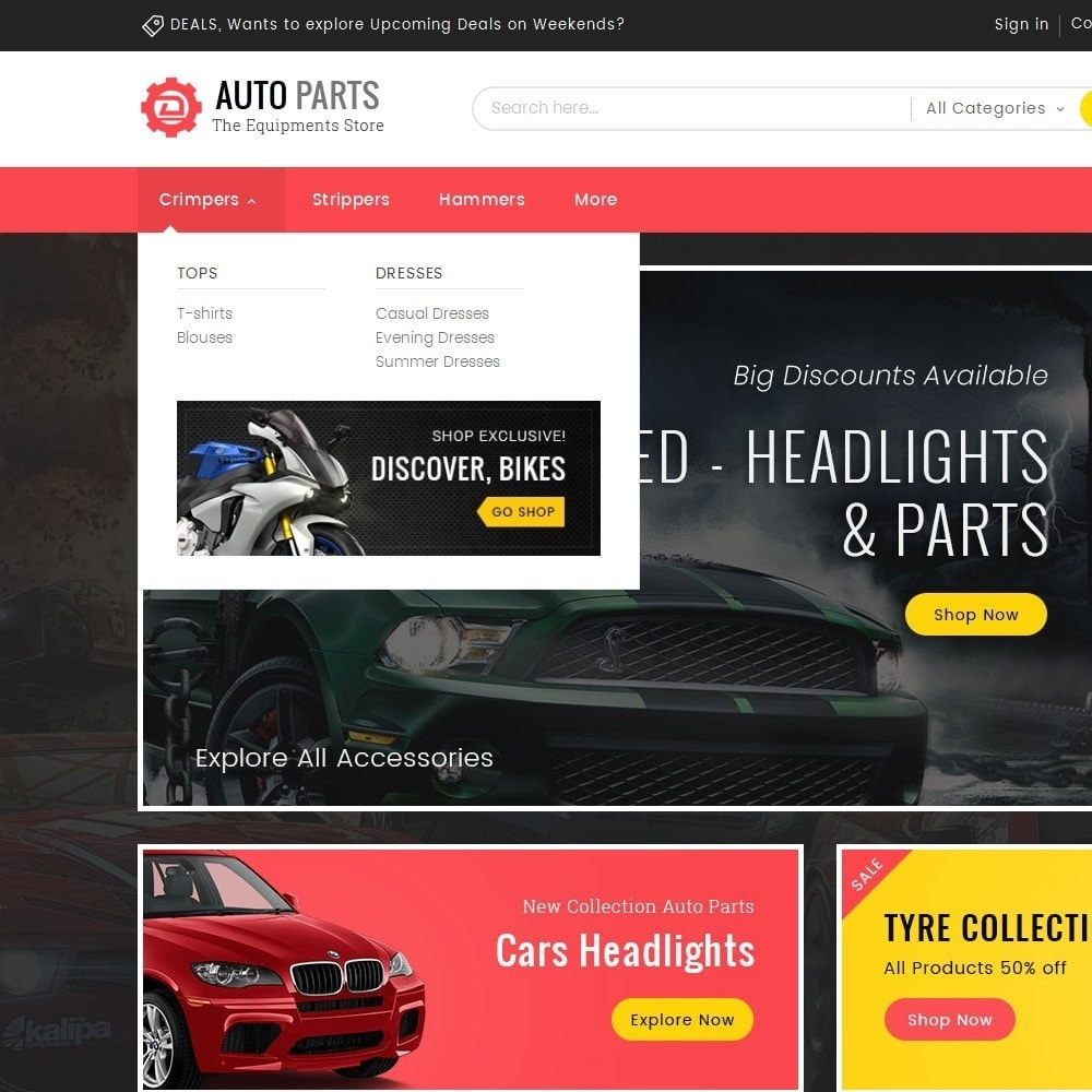theme - Auto & Moto - Auto Equipment Parts - 9
