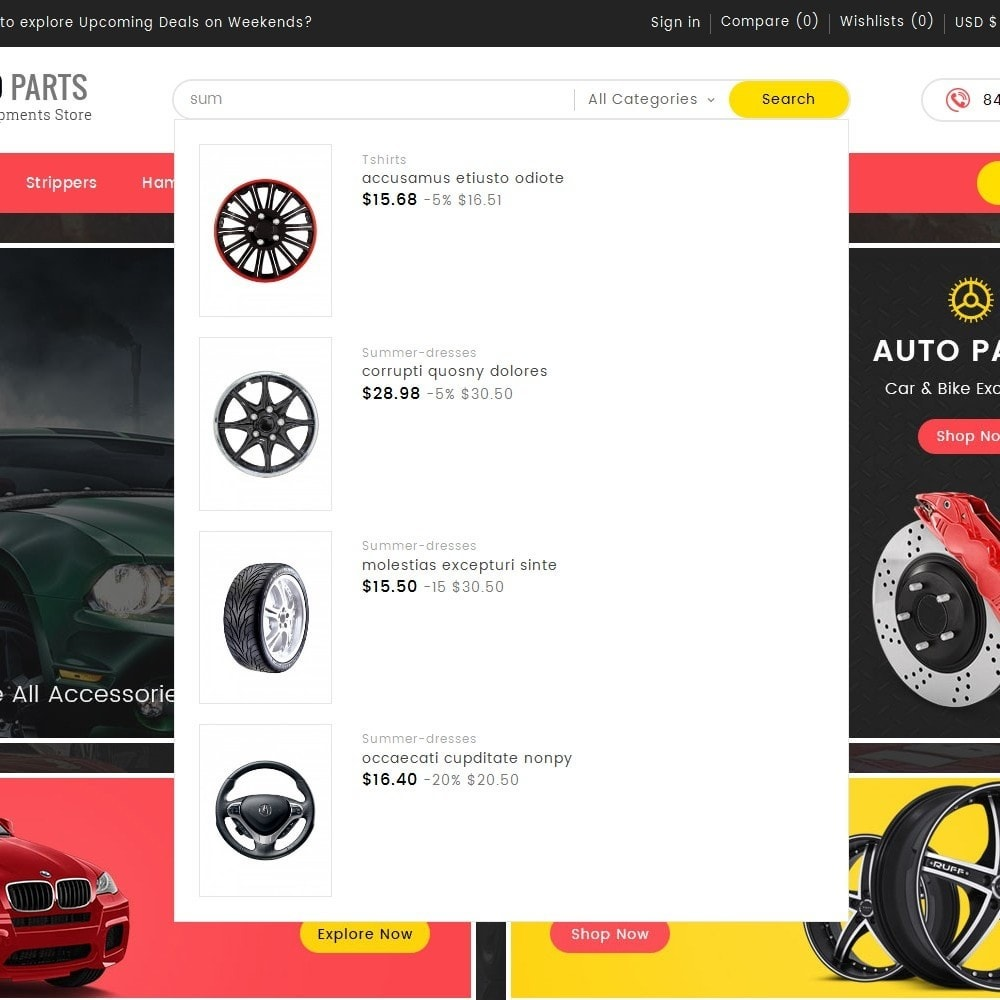 theme - Auto & Moto - Auto Equipment Parts - 10