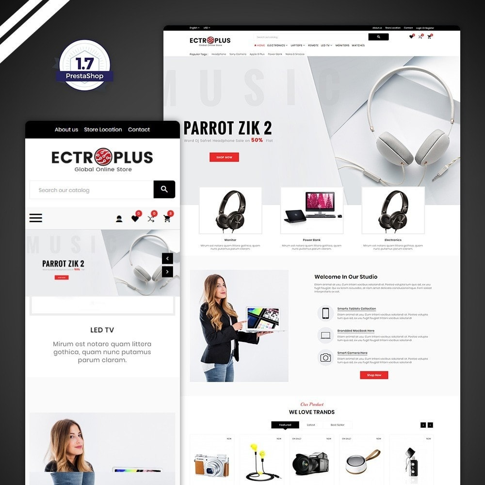theme - Electronics & Computers - ElectroPlus – Electronic Mega Store - 1