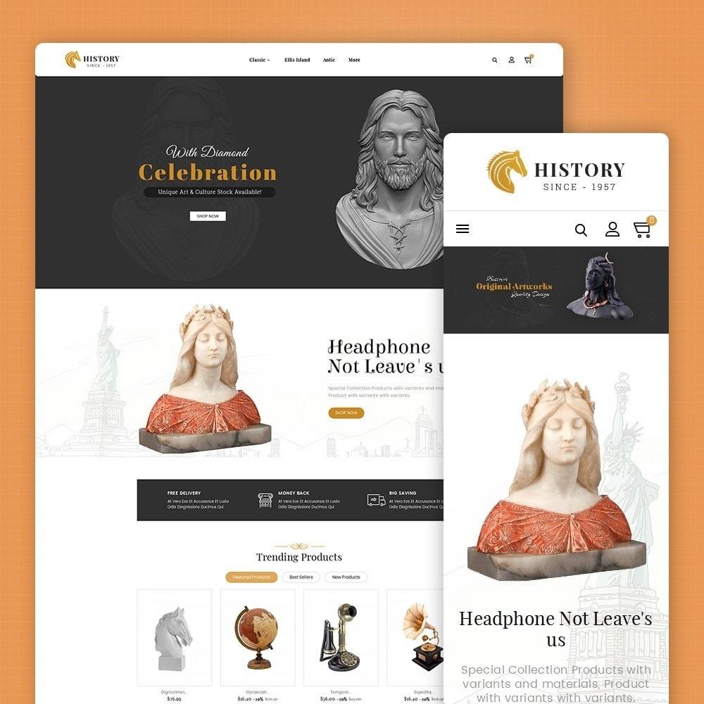 theme - Arte y Cultura - Antique Statue Art - 2