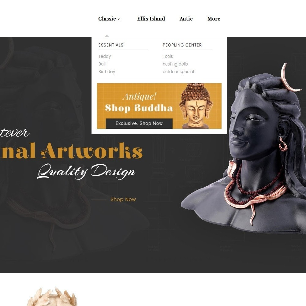 theme - Arte & Cultura - Antique Statue Art - 9