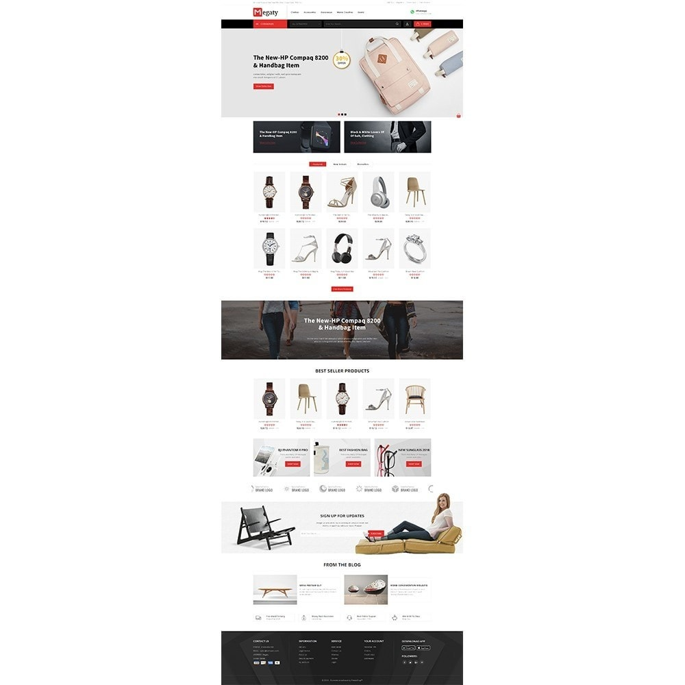 theme - Mode & Chaussures - Megaty Store - 2