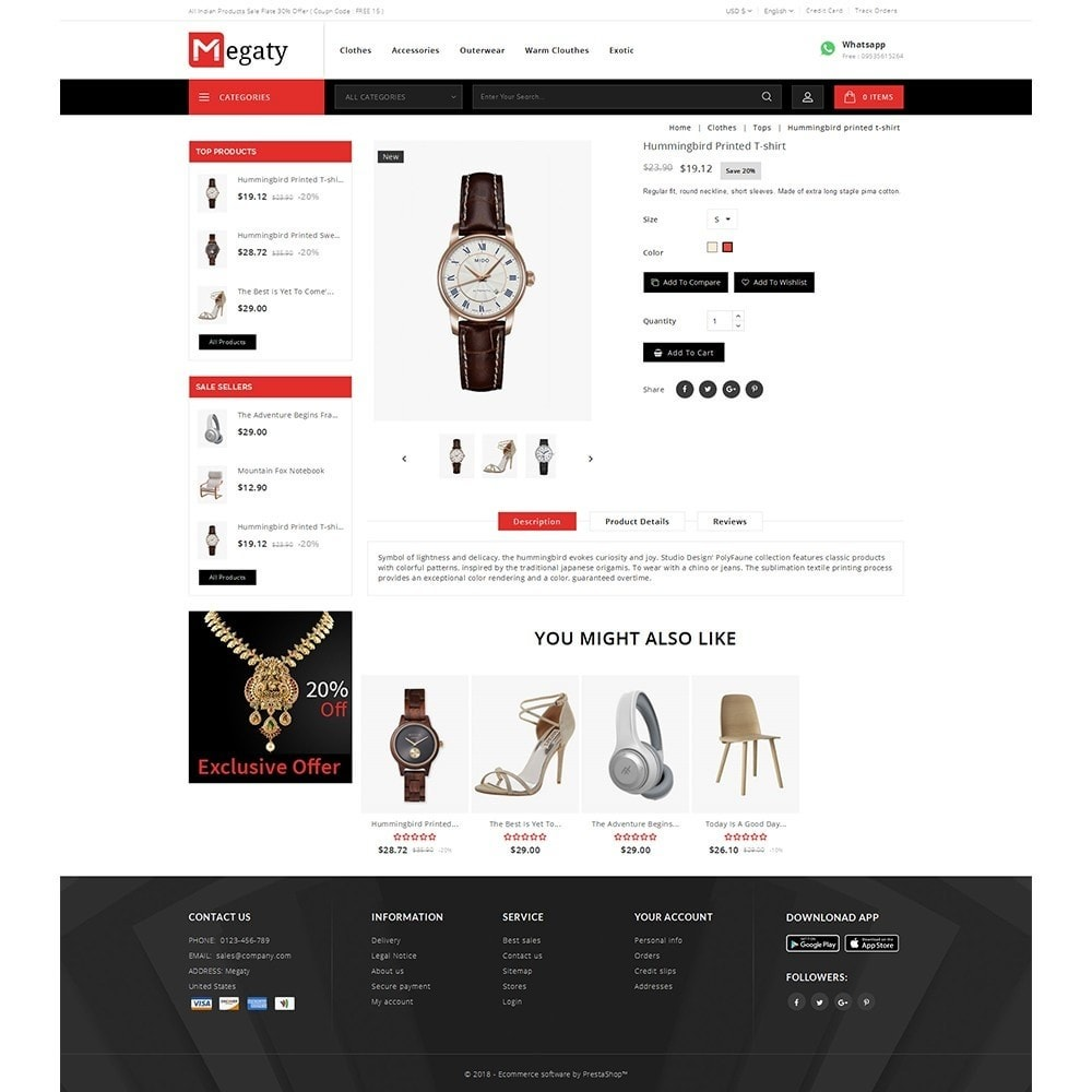 theme - Mode & Chaussures - Megaty Store - 5