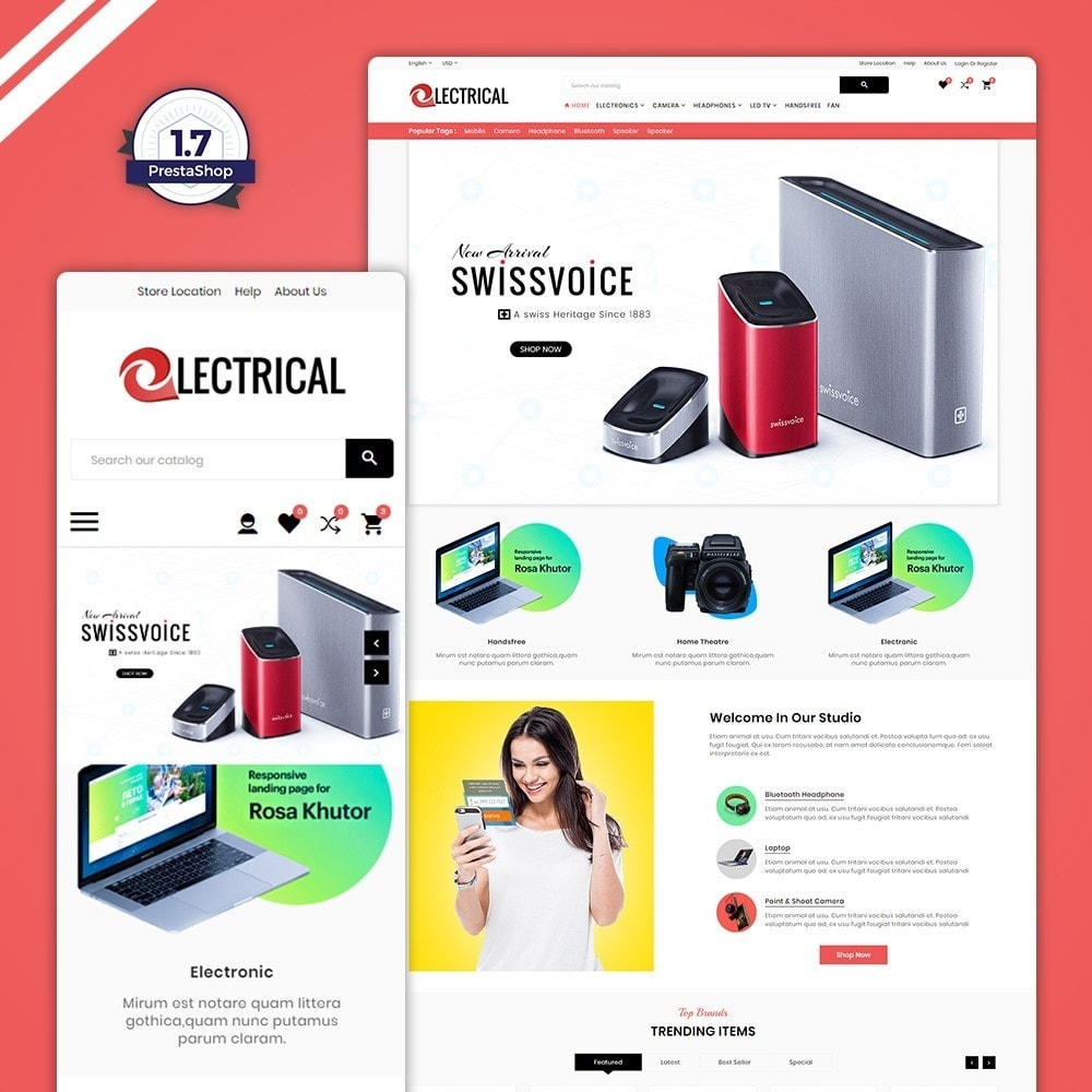 theme - Electronics & Computers - Electrical – Electronic & Accessories Store - 1