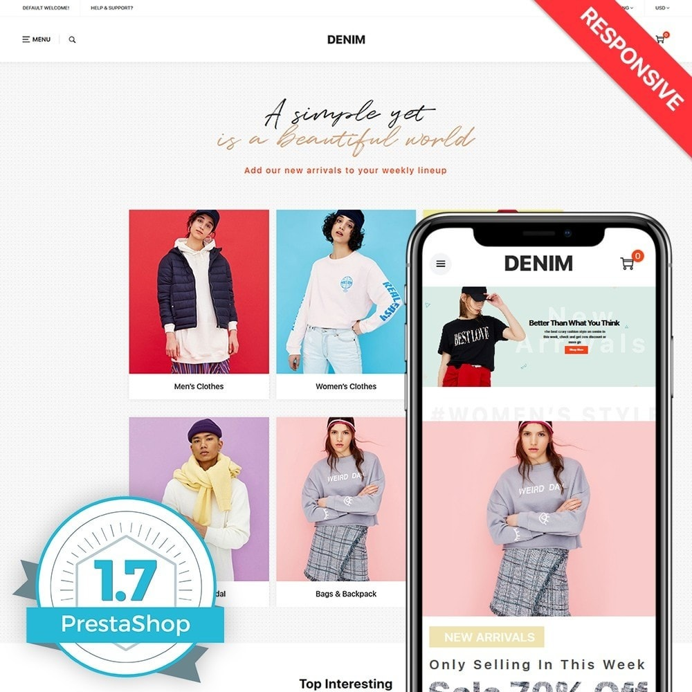 theme - Moda & Calzature - Denim - 1