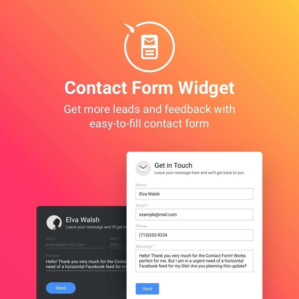module - Formulaires de Contact & Sondages - Elfsight Contact Form - 1