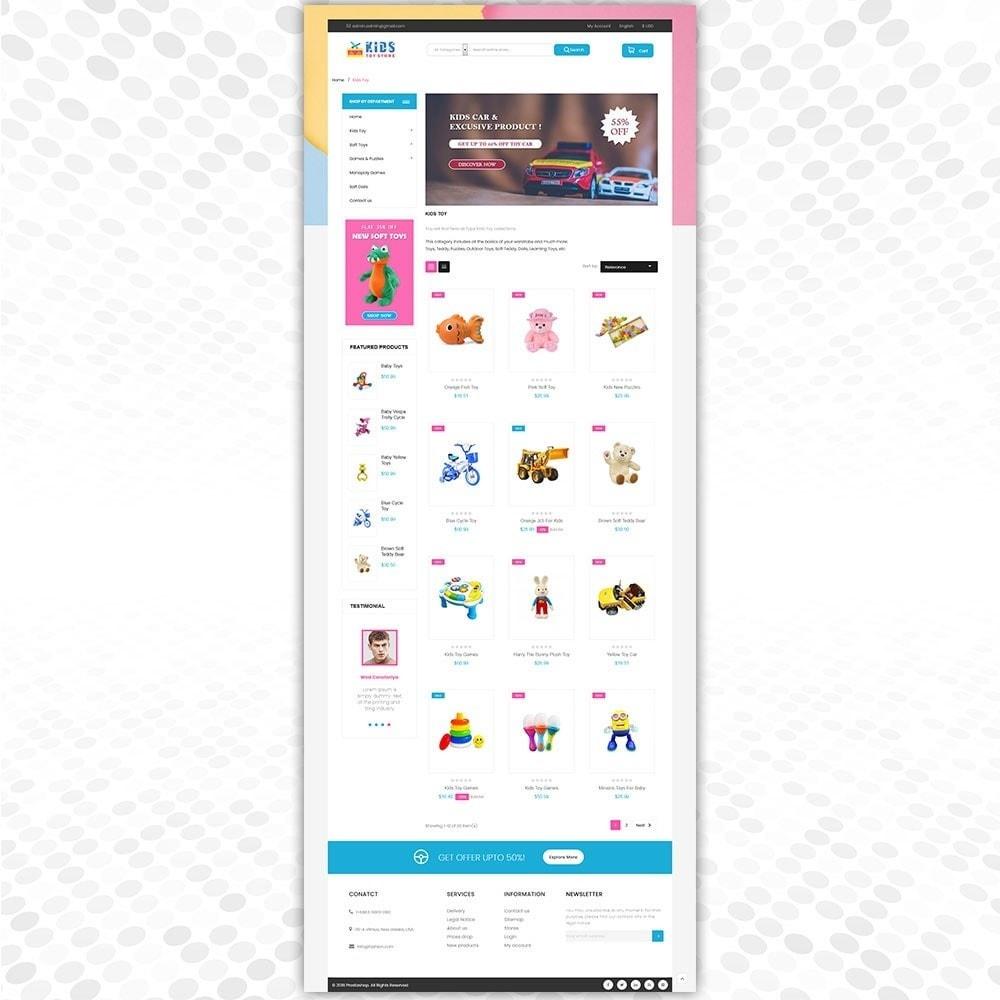 theme - Дети и Игрушки - Магазин игрушек - 3