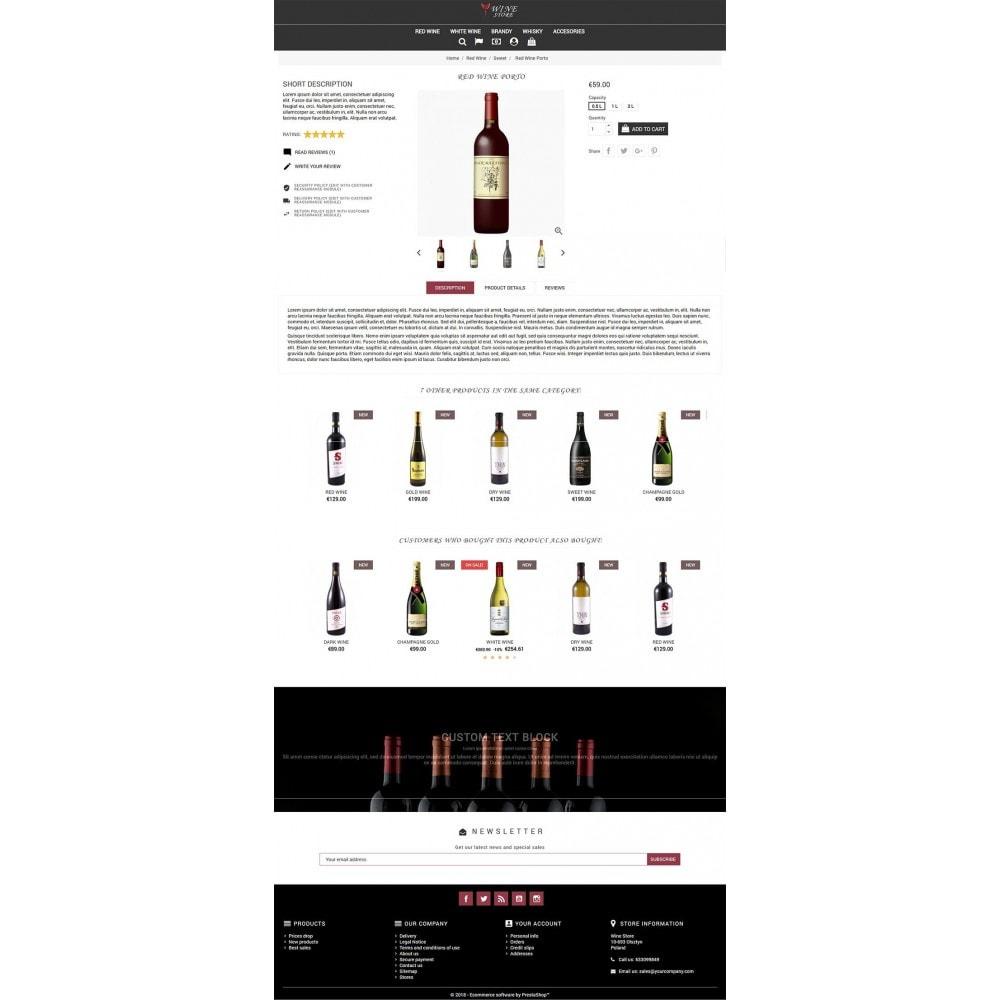 theme - Napoje & Wyroby tytoniowe - Wine Store - 4
