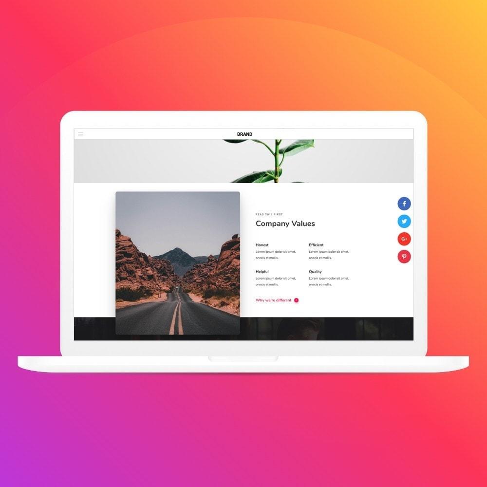 module - Boutons de Partage & Commentaires - Elfsight Social Share Buttons - 6