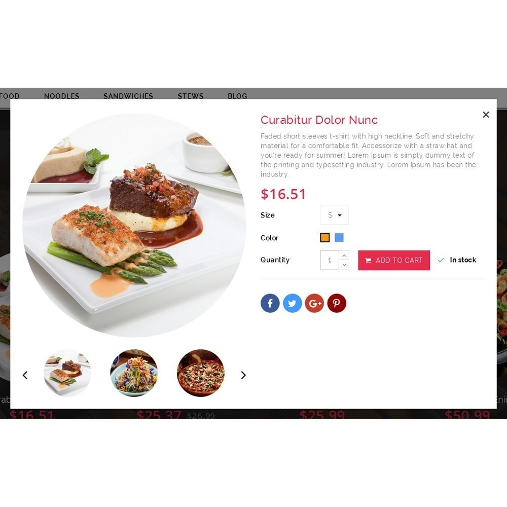 theme - Lebensmittel & Restaurants - FoodHub Demo Store - 7