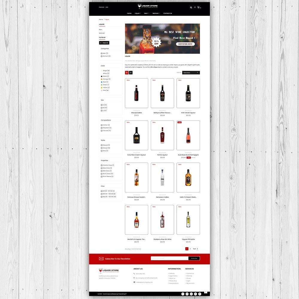 theme - Napoje & Wyroby tytoniowe - Sklep alkoholowy - 4