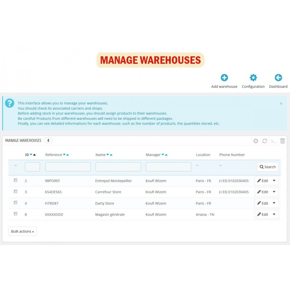 module - Gestione Scorte & Fornitori - Wk Warehouses Management For Prestashop 1.7 - 4
