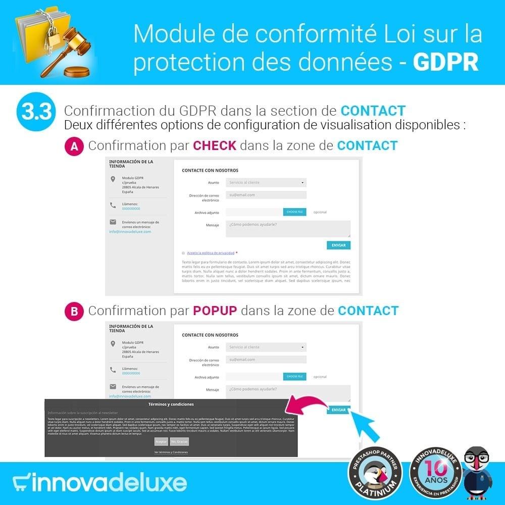 module - Législation - Conformité à la Loi sur la protection des données RGPD - 6