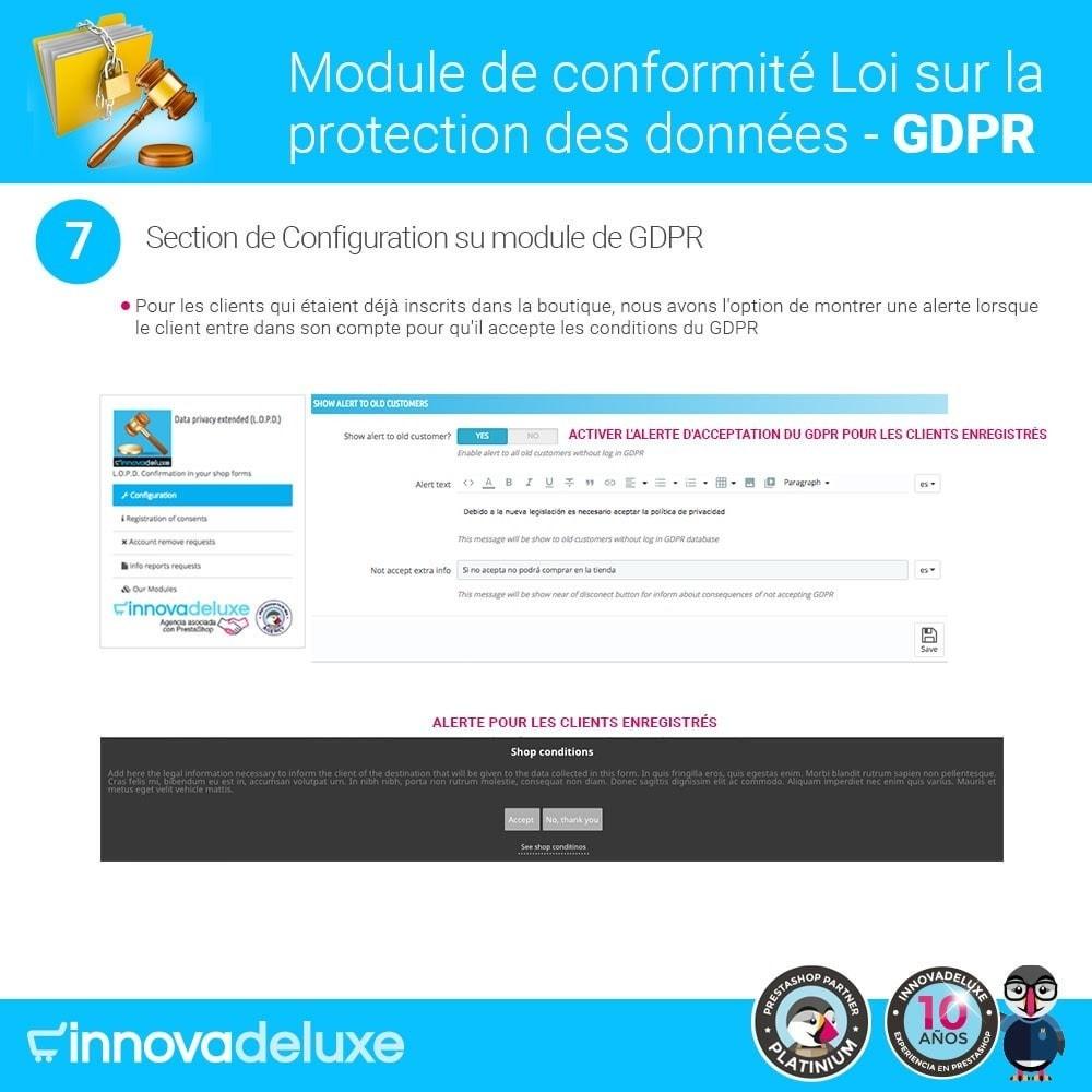 module - Législation - Conformité à la Loi sur la protection des données RGPD - 14