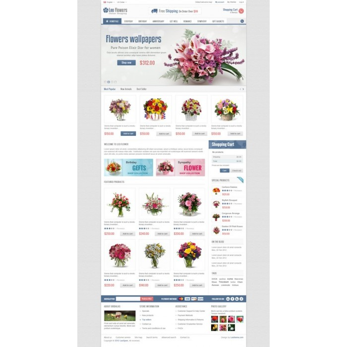 theme - Regali, Fiori & Feste - Leo Flower - 7