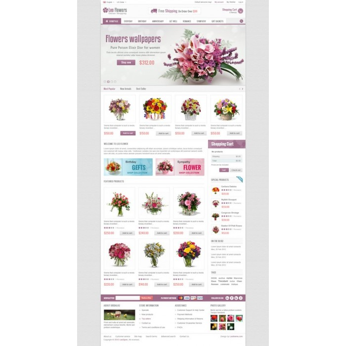 theme - Regali, Fiori & Feste - Leo Flower - 12