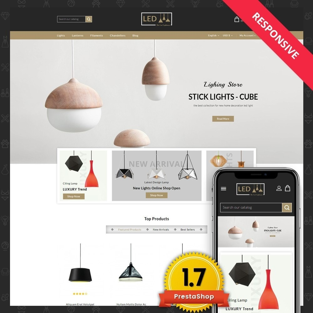 theme - Home & Garden - Lightness Store - 1