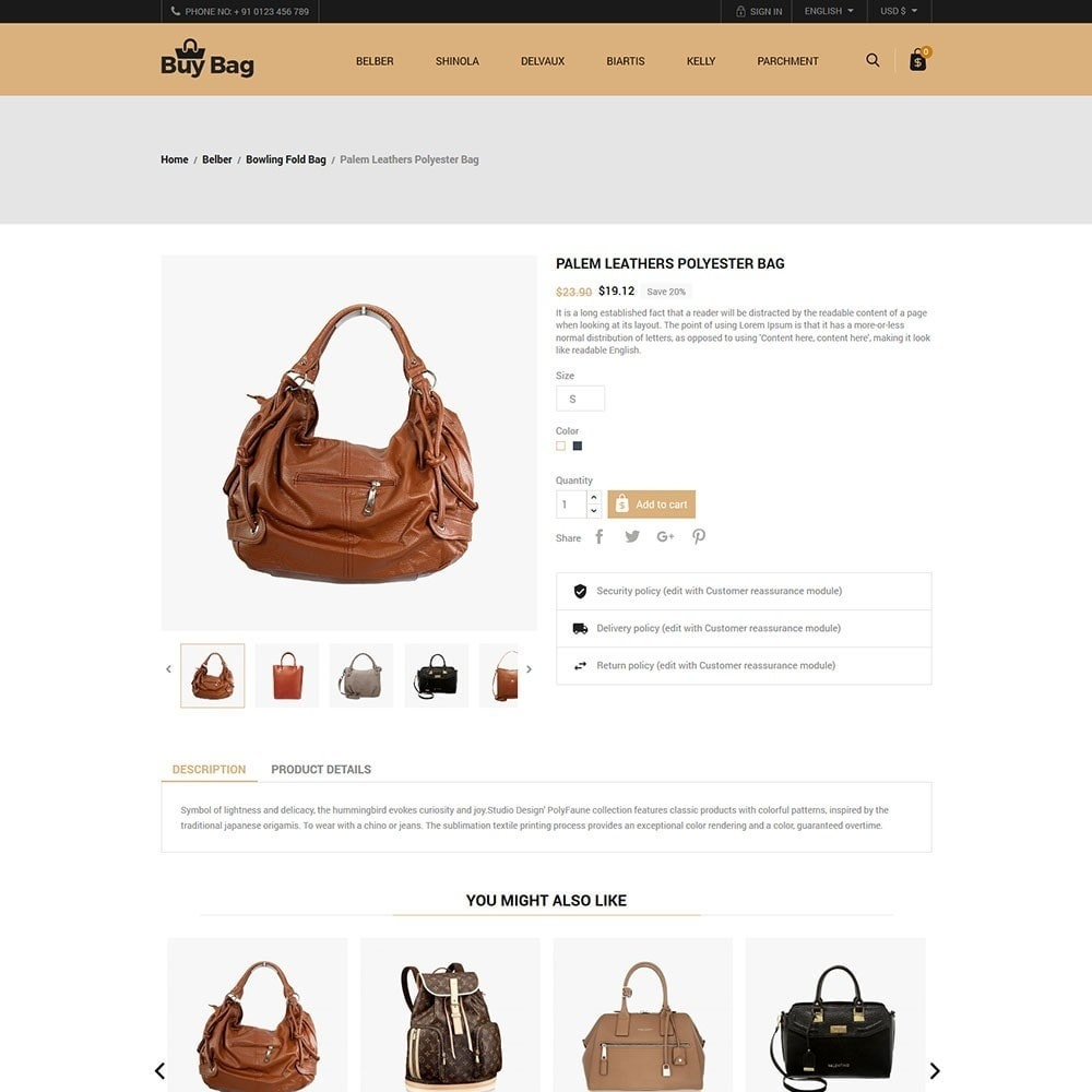 theme - Mode & Schoenen - Buy Bag - Fashion Store - 5