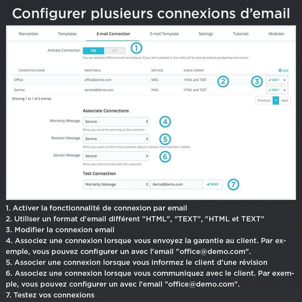 module - Gestion des Commandes - Produit Garantie Pro - 24