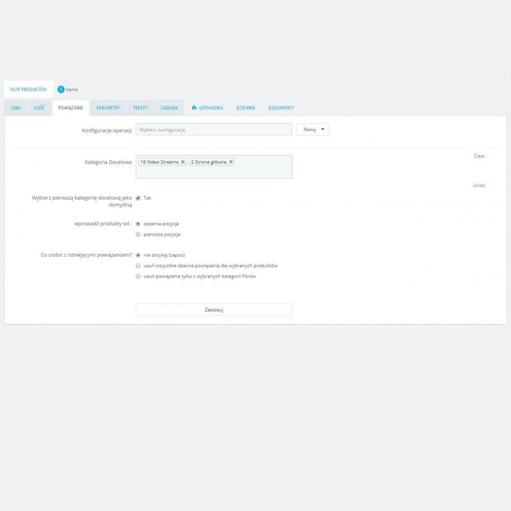 module - Szybkie & Masowe edytowanie - Zaawansowane Działania Masowe + Pełny Filtr Produktów - 6