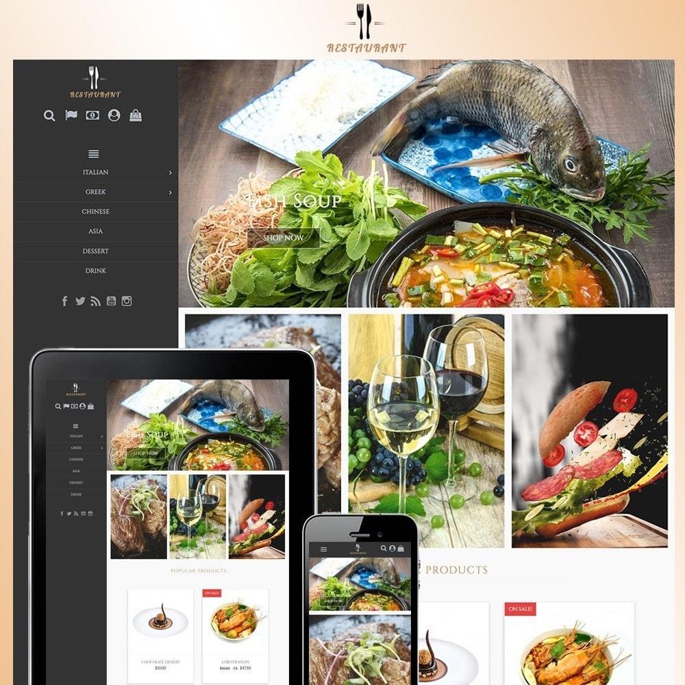 theme - Alimentation & Restauration - Universal Restaurant - 1
